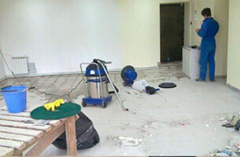 Уборка пыли после ремонта